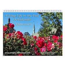 Fullness Of Life Calendar Wall Calendar