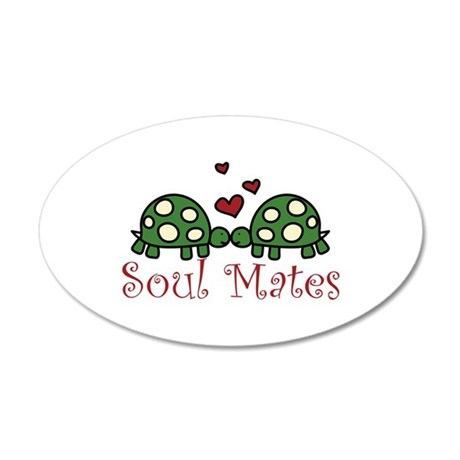 Soul Mates Wall Decal