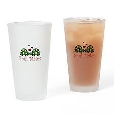Soul Mates Drinking Glass