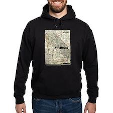 Walking Dead Terminus Map Hoodie (dark)