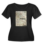 Terminus Map Women's Plus Size T-Shirt