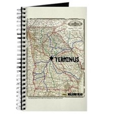 Walking Dead Terminus Map Journal