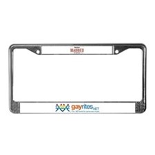 Arkansas Marriage Equality License Plate Frame