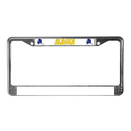 Alaska State Motto License Plate Frame