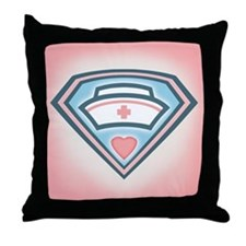 superb nurse tlc Throw Pillow
