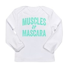 Muscles and Mascara Long Sleeve T-Shirt