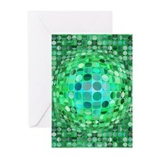 Optical Illusion Sphere Greeting Cards (Pk of 20)