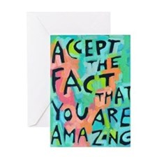 Funny Self acceptance Greeting Card