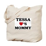 Tessa loves mommy Tote Bag