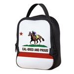 CAL-BRED AND PROUD Neoprene Lunch Bag