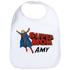 Supermom Amy Bib