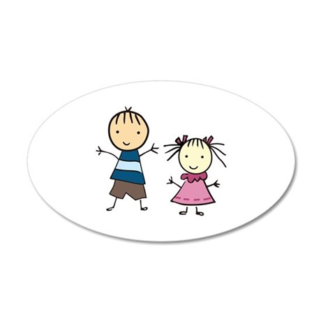 Brother And Sister Wall Decal