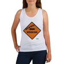 Cute Working girl Women's Tank Top