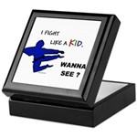 Fight Like A Kid Keepsake Box