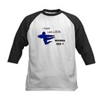 Fight Like A Kid Kids Baseball Jersey