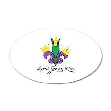 Mardi Gras King Wall Decal