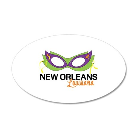 New Orleans Louisiana Wall Decal