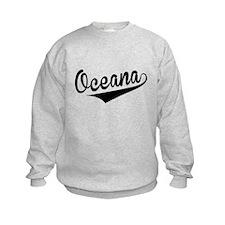 Oceana, Retro, Sweatshirt