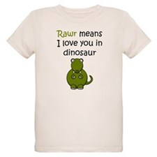 Rawr Means I Love You In Dinosaur T-Shirt