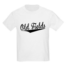 Old Fields, Retro, T-Shirt