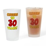 Cheers to 30 years Pint Glasses