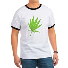 marijuana leaf-color-lg-001 T-Shirt