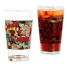 Daredevil Collage Drinking Glass