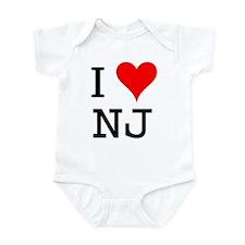 I Love NJ Infant Bodysuit