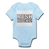 """RUSH ROCKS!"" Infant Creeper"