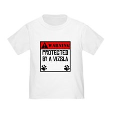 Protected By A Vizsla T-Shirt
