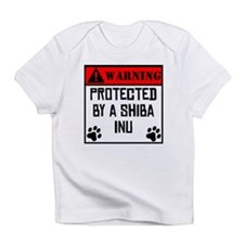 Protected By A Shiba Inu Infant T-Shirt