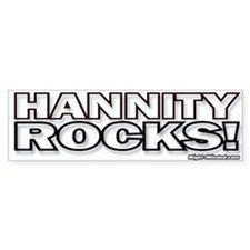 """HANNITY ROCKS!"" Bumper Bumper Sticker"