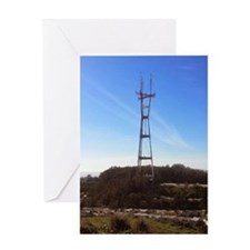 Sutro Tower Greeting Card