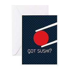 Cute Sushi Greeting Card