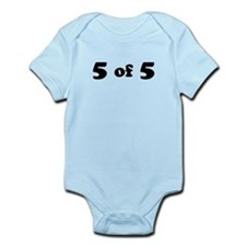 5 of 5 (Fifth Child) Body Suit