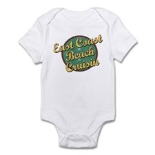 East Coast Beach Cruising Infant Bodysuit