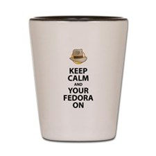 Keep Calm And Your Fedora On Black Text Updated Sh