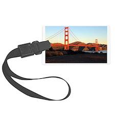 Sunrise Golden Gate Luggage Tag