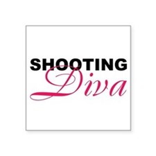 5x3rect_sticker shooting diva Sticker