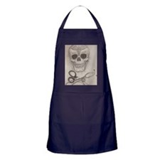 Medic Skull and Crossbones Apron (dark)