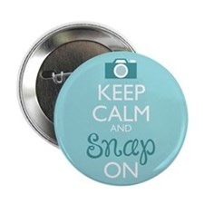 "Keep Calm And Snap On 2.25"" Button (10 Pack)"