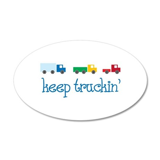 keep truckin Wall Decal