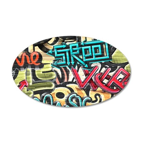 Graffiti Wall Wall Decal