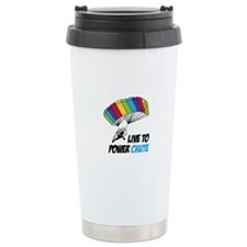 LIVE TO POWER CHUTE Travel Mug