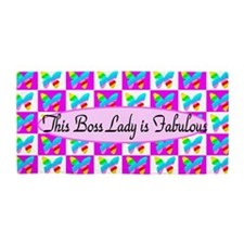 Sweet Boss Lady Beach Towel