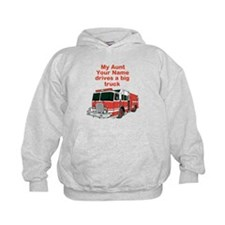 My Aunt (Your Name) Drives A Big Truck Hoodie