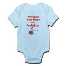 My Uncle (Your Name) Is A Firefighter Body Suit
