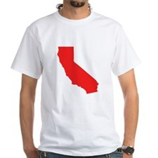 Red California Silhouette T-Shirt