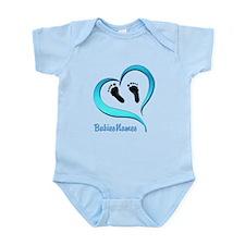 Heart Baby prints B Body Suit