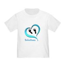 Heart Baby prints B T-Shirt
